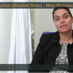 Nasal Obstruction Video by Dr Romana Kuchai